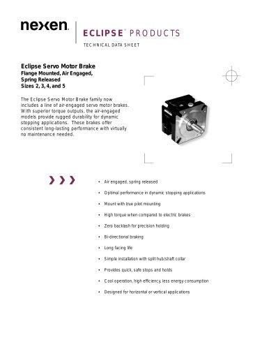 Eclipse Servo Motor Brake