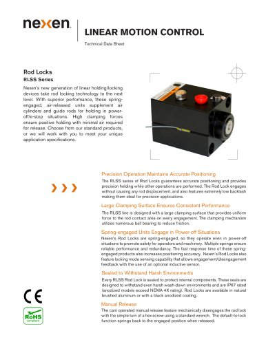 Rod Lock Catalog