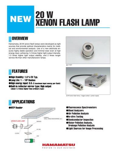 20 W XENON FLASH LAMP