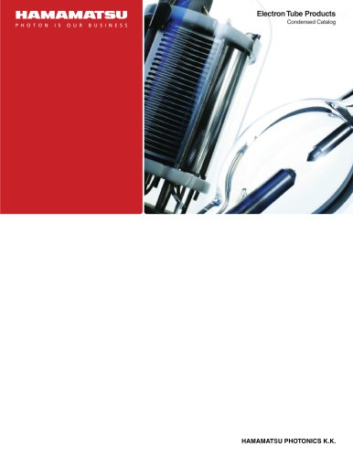 Electrom Tube Products Condensed Catalog