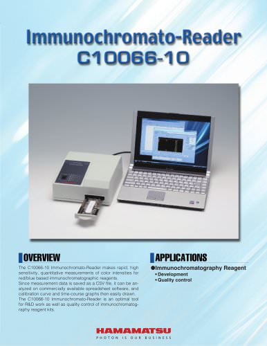 Immunochromato-Reader  C10066
