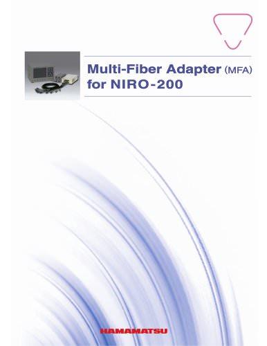 Multi-Fiber Adapter (MFA) for NIRO-200