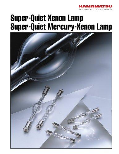 Super-Quiet Xenon Lamp, Super-Quite Mercury-Xenon Lamp