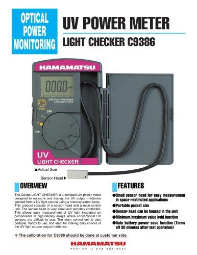 UV POWER METER LIGHT CHECKER C9386