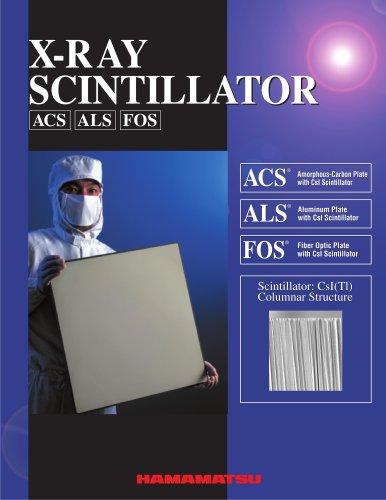 X-RAY SCINTILLATOR ACS ALS FOS