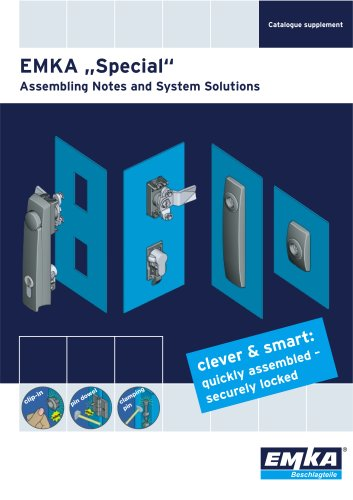 EMKA Special - Assembling Notes and System Solutions