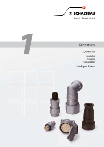 Modular Connectors, G and GM series