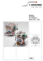 Multipole DC and AC cam contactors Series C152 ... C159