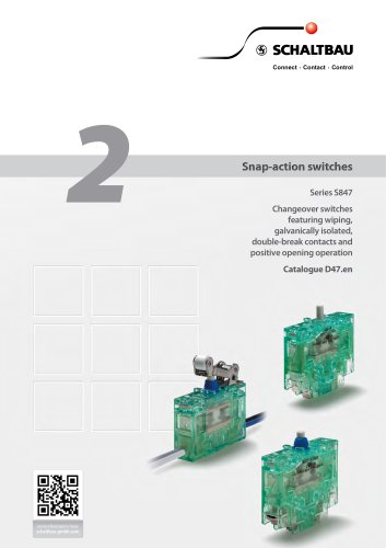 Snap-action switches, S847