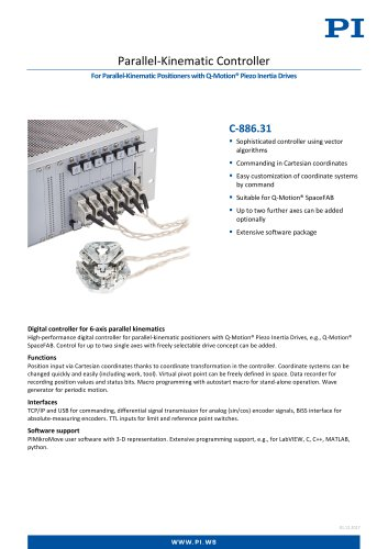 C-886.31 Parallel-Kinematic Controller