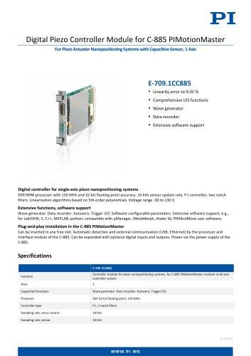 E-709.1CC885 Digital Piezo Controller Module for C-885 PIMotionMaster