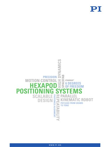 Hexapod Positioning Systems