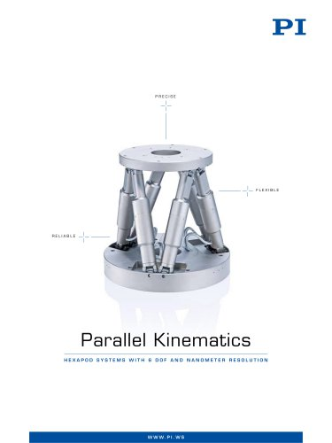 Hexapods 6-Axis Stages