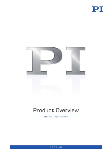 PI Product Overview