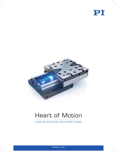 Q-Motion Miniature Positioning Stages