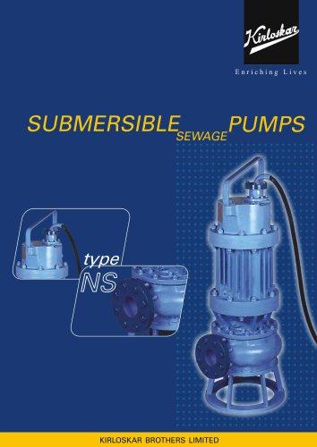 NS Non Clog Submersible Pump