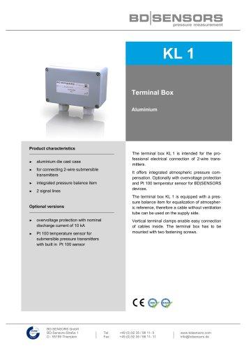 KL 1terminal box aluminium