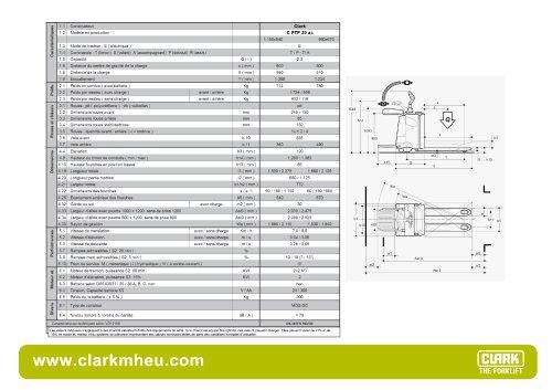 CLARK C PTP 20 ac
