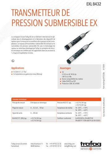 Fiche technique EXL 8432