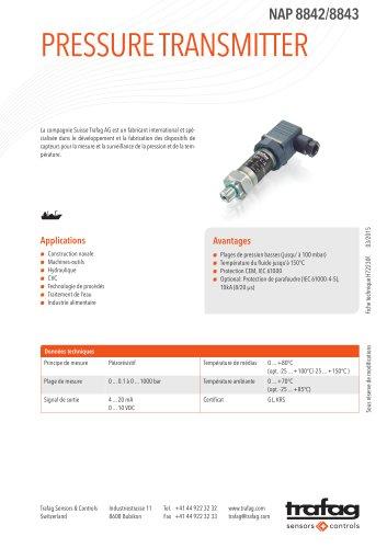 Fiche technique NAP 8842/8843