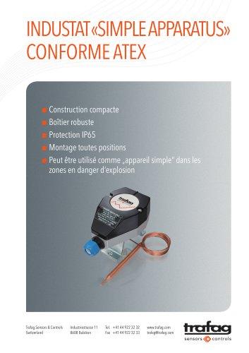 Flyer «Simple Apparatus» conformity to ATEX 414
