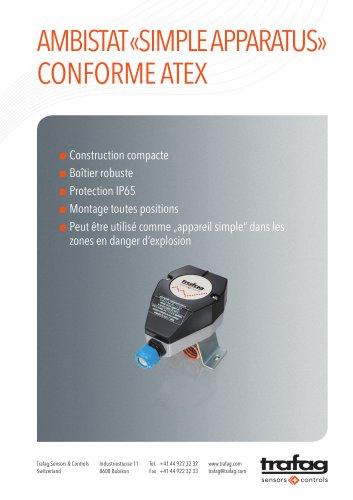 Flyer «Simple Apparatus» conformity to ATEX 419