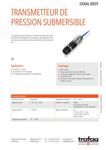 H70695a_FR_8859_EXNAL_Ex_Submersible_Pressure_Transmitter