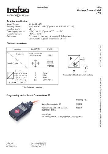Mode d'emploi EPN-S 8320