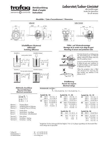 Mode d'emploi L/LF 736/754