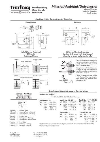 Mode d'emploi MST 624/634