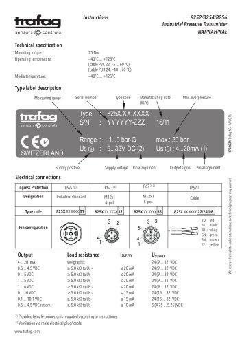 Mode d'emploi NAT 8252