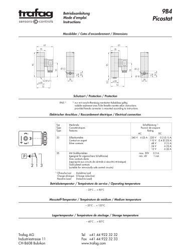 Mode d'emploi PST4 9B4