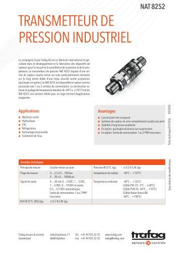 Transmetteur de pression industriel NAT 8252