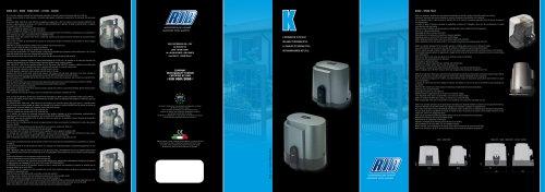 K500 - K800 - K1400 - K2200
