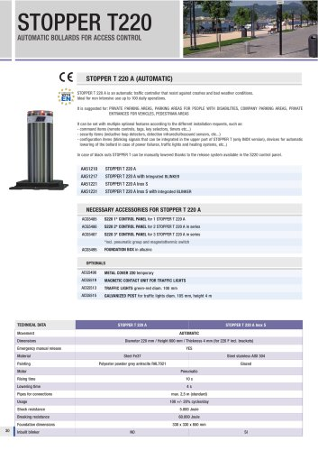 STOPPER T220-275