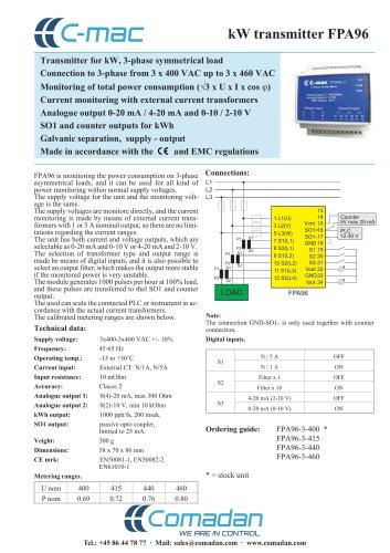 kW transmitter FPA96