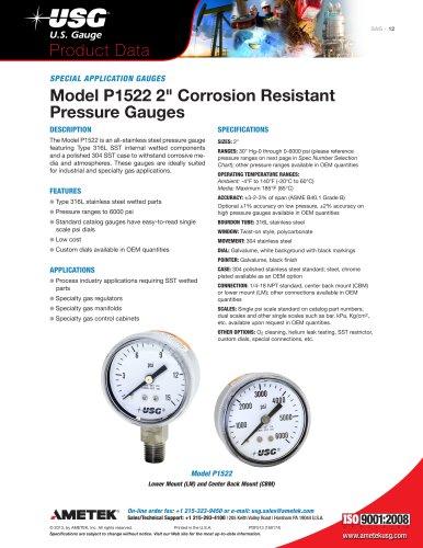 Model P1522 2
