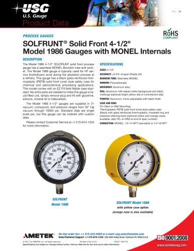 SOLFRUNT® Solid Front 4-1/2