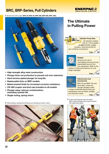 BRC, BRP-Series, Pull Cylinders