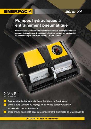 Enerpac XA Series Pompes Hydrauliques a entrainement pneumatique