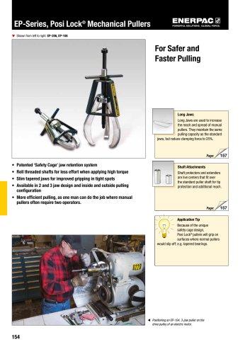 EP-Series, Posi Lock® Mechanical Pullers