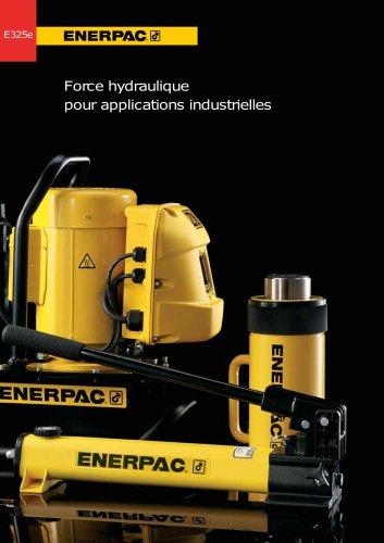 Force hydraulique pour applications industrielles