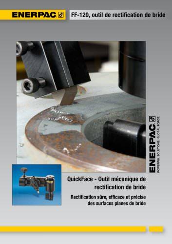 QuickFace - Outil mécanique de  rectification de bride