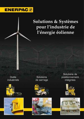 Solutions & Systèmes  pour l?industrie de  l?énergie éolienne