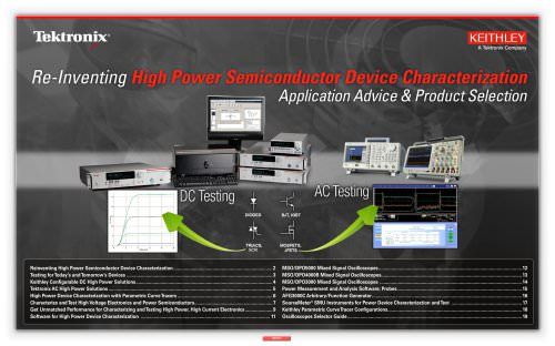 E-Guide: Re-Inventing High Power Semiconductor and Device Characterization