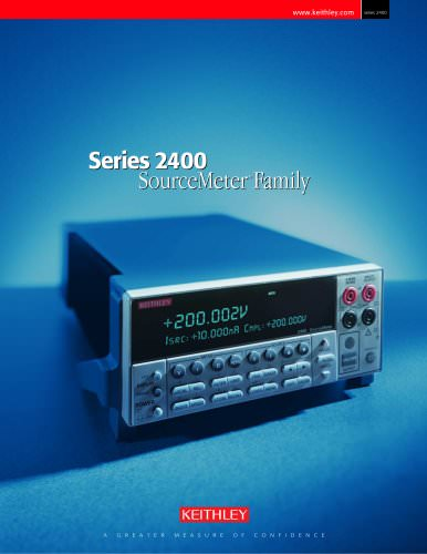 Series 2400 SourceMeter®Family