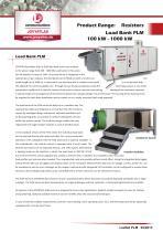PLM Testing Resistor Load Banks 100 kW - 1 MW