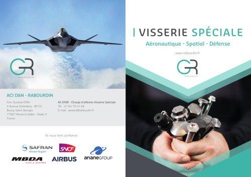 PRODUITS VISSERIE AERONAUTIQUE - SPATIALE ET DEFENSE