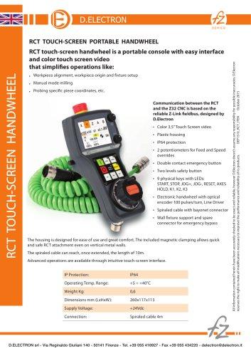CNC Z32 RCT Touch-Screen Portable Handwheel
