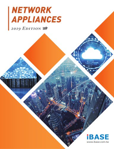 NETWORK APPLIANCES 2019 Edition